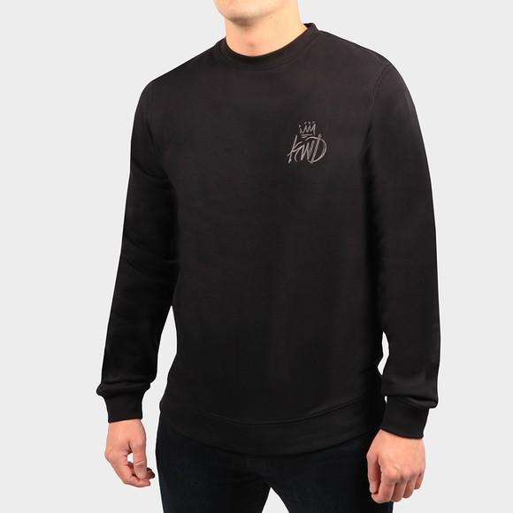 Kings Will Dream Mens Black Crosby Sweatshirt