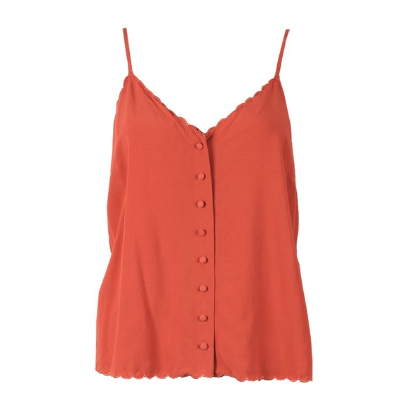 Superdry Womens Red Cami Top