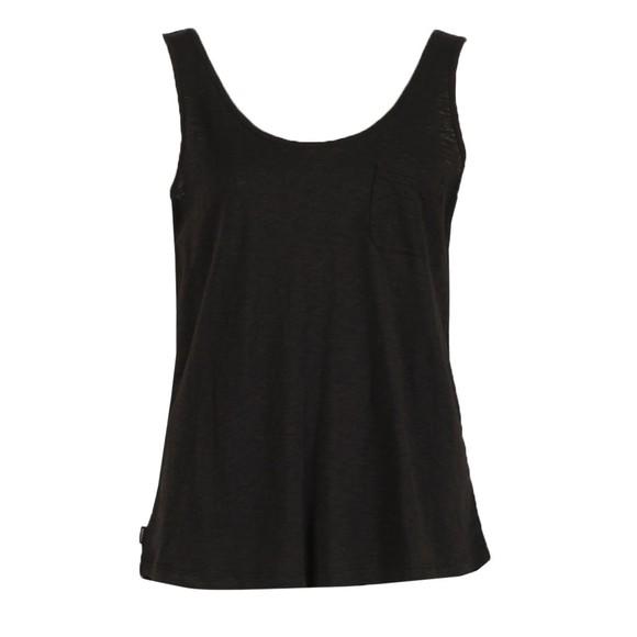 Superdry Womens Black Organic Cotton Tank Top