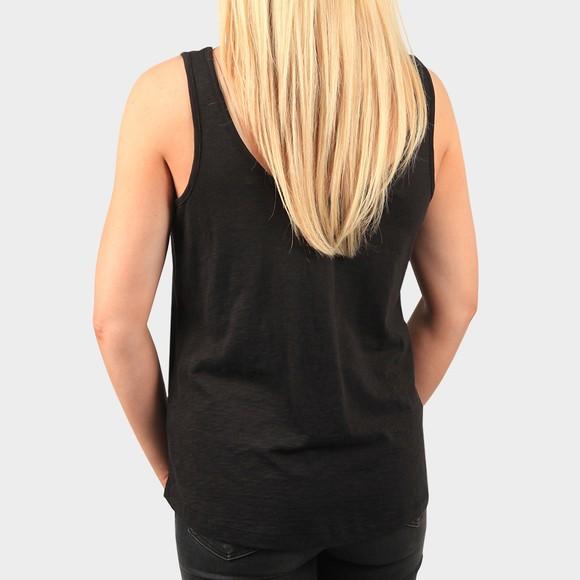 Superdry Womens Black Organic Cotton Tank Top main image
