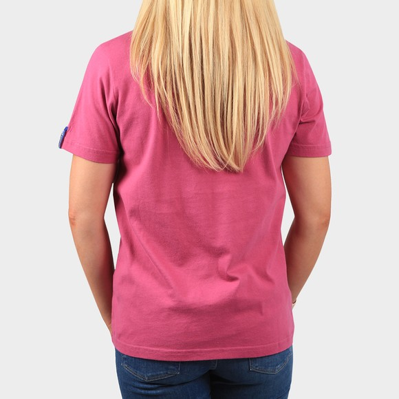 Superdry Womens Purple CL Workwear T-Shirt main image