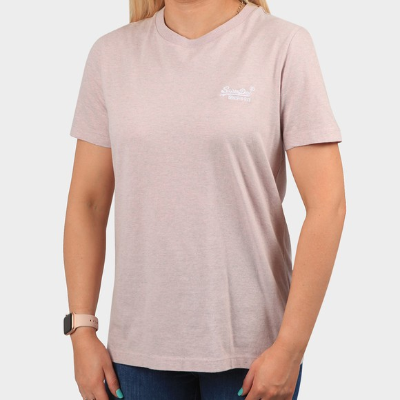 Superdry Womens Pink OL Classic T-Shirt