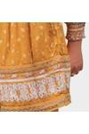 Superdry Womens Orange Ameera Off Shoulder Playsuit
