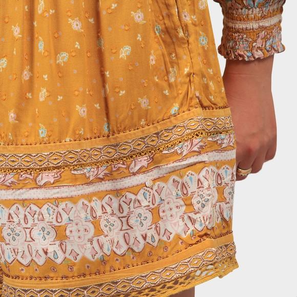 Superdry Womens Orange Ameera Off Shoulder Playsuit main image