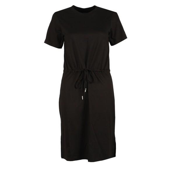 Superdry Womens Black Drawstring T-Shirt Dress main image