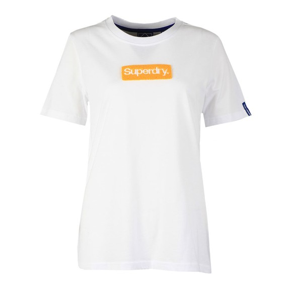 Superdry Womens White CL Workwear T-Shirt