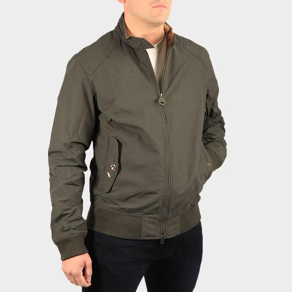 Barbour Int. Steve McQueen Mens Green Rectifier Harrington Jacket