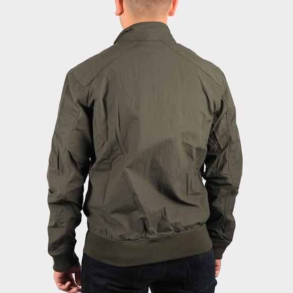 Barbour Int. Steve McQueen Mens Green Rectifier Harrington Jacket main image