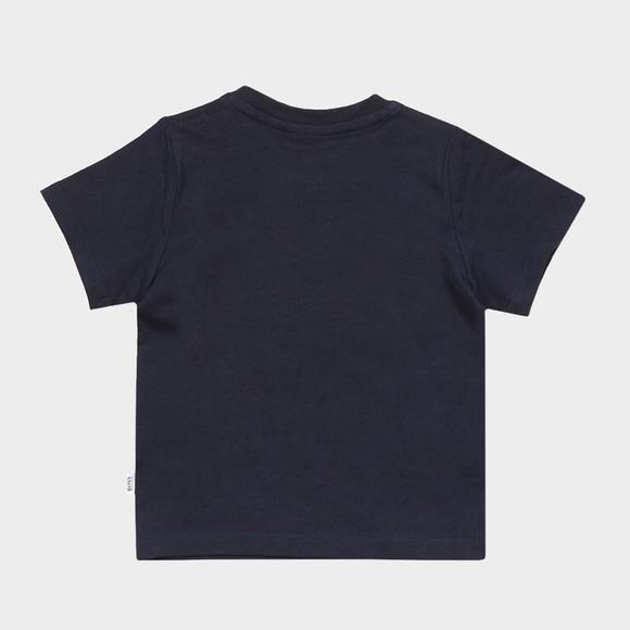 BOSS Baby Boys Blue J05831 Centre Logo T Shirt