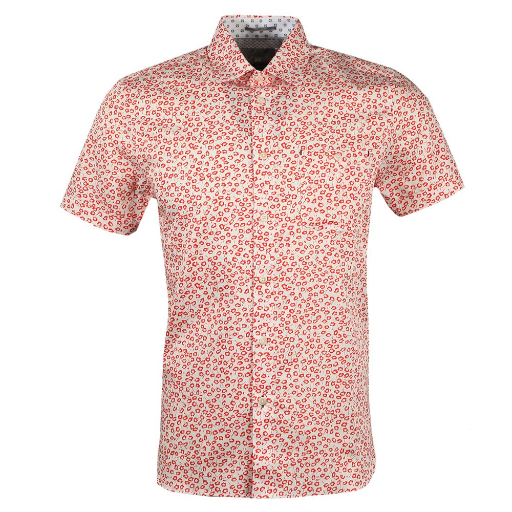 Parslee SS Flower Print Shirt main image