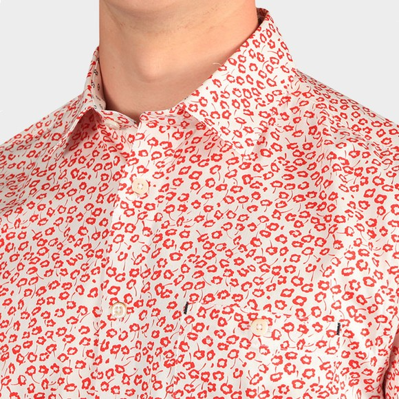 Ted Baker Mens Red Parslee SS Flower Print Shirt main image