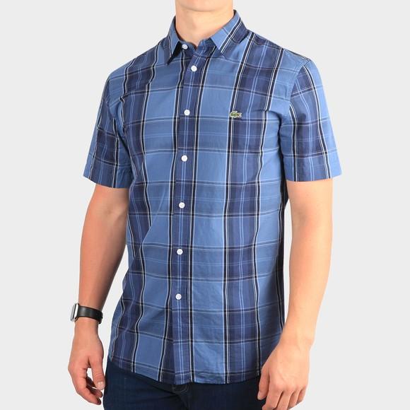 Lacoste Mens Blue S/S CH8446 Shirt main image