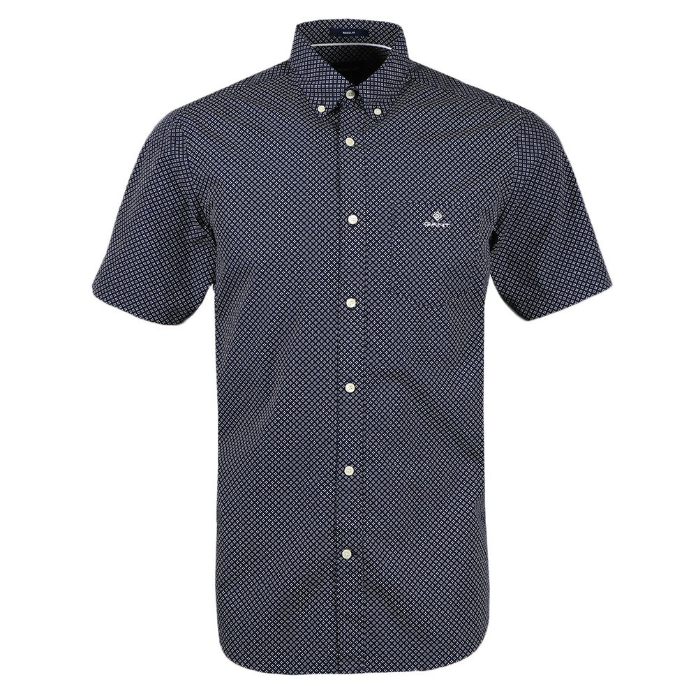 Regular Micro Dot Short Sleeve Shirt main image