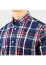 Regular Washed Indigo Plaid Shirt additional image