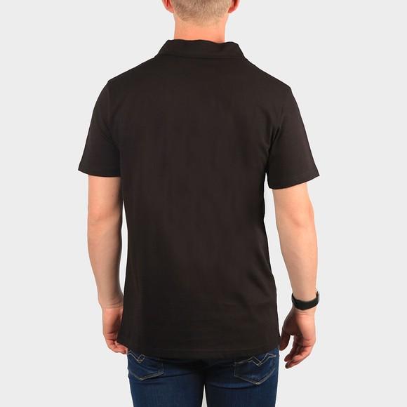 Terrace Cult Mens Black 1/2 Zip Polo Shirt main image