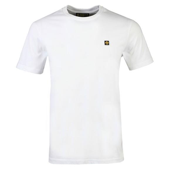 Terrace Cult Mens White Crew Neck T-Shirt