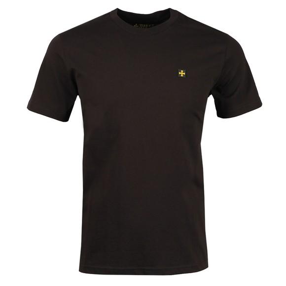 Terrace Cult Mens Black Crew Neck T-Shirt