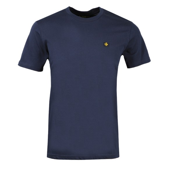 Terrace Cult Mens Blue Crew Neck T-Shirt