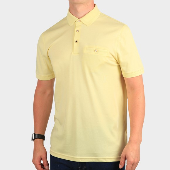 Ted Baker Mens Yellow Choon Polo Shirt