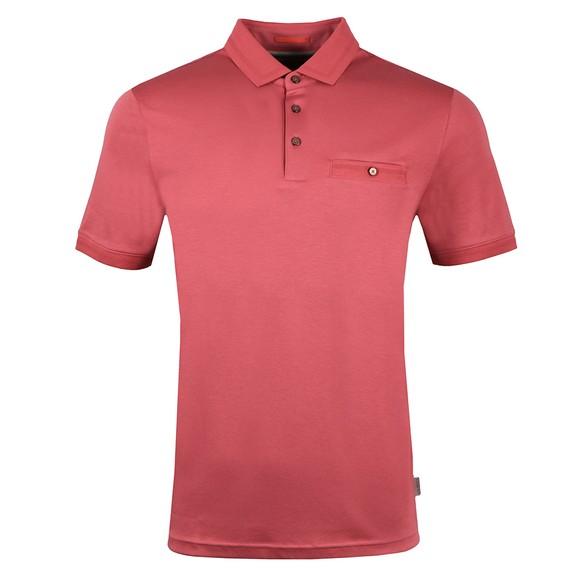 Ted Baker Mens Pink Choon Polo Shirt