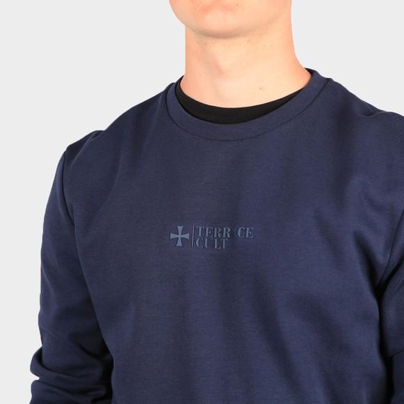 Terrace Cult Mens Blue Crew Sweatshirt main image
