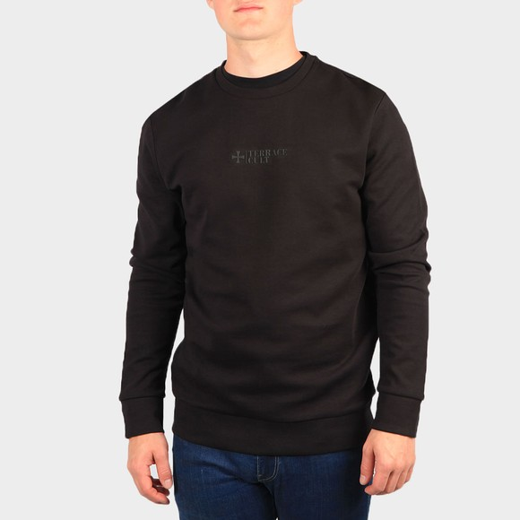 Terrace Cult Mens Black Crew Sweatshirt main image
