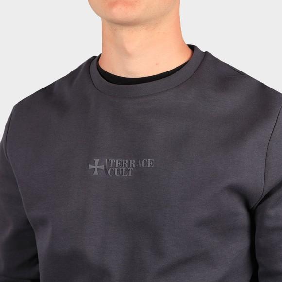 Terrace Cult Mens Grey Crew Sweatshirt main image