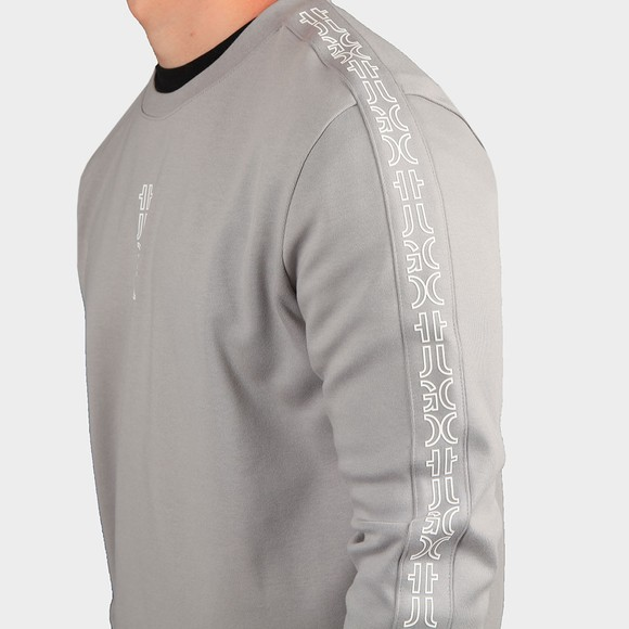 HUGO Mens Silver Doby213 Sweatshirt main image
