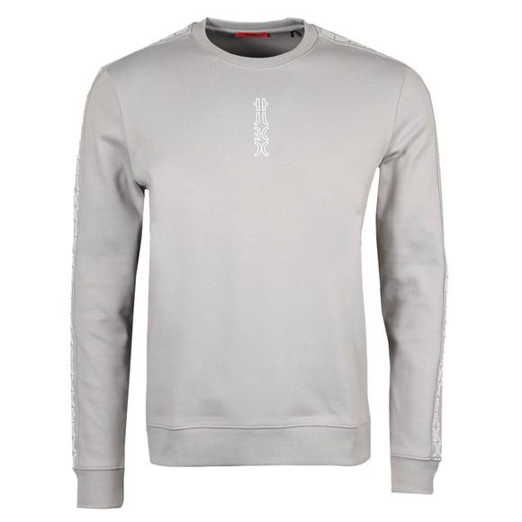 HUGO Mens Silver Doby213 Sweatshirt