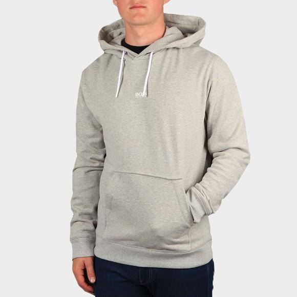 BOSS Mens Grey Casual Weedo Hoody main image