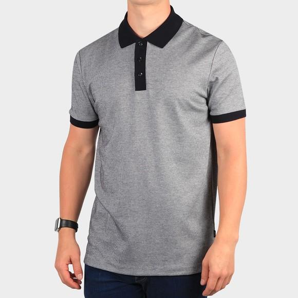 BOSS Mens Blue Formal Parlay 121 Polo Shirt