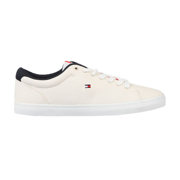 Tommy Hilfiger Mens Off-White Chambry Vulcanised Trainer