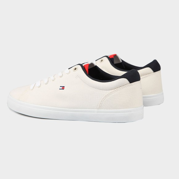 Tommy Hilfiger Mens Off-White Chambry Vulcanised Trainer main image