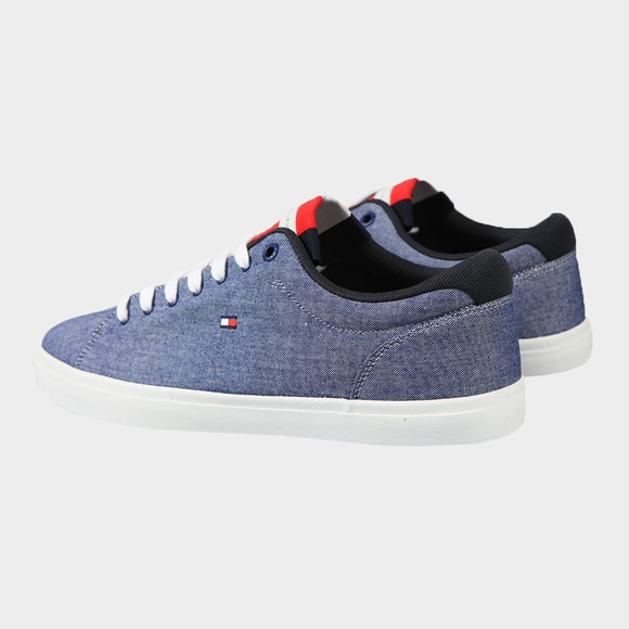Tommy Hilfiger Mens Blue Chambry Vulcanised Trainer main image