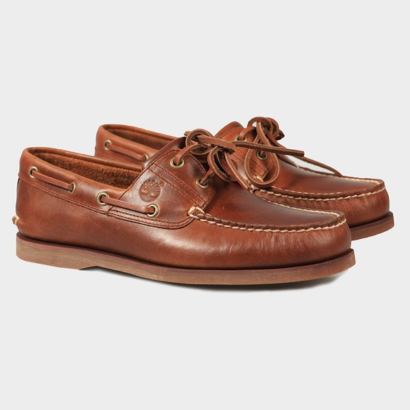 Timberland Mens Brown Deck Shoe main image