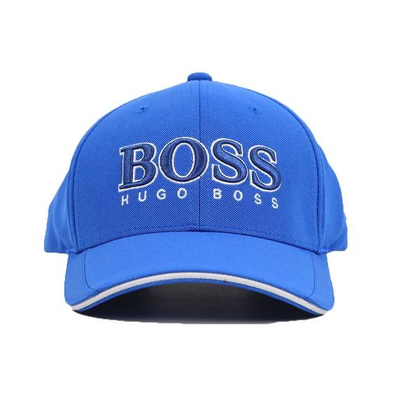 BOSS Mens Blue Athleisure US-1 Cap