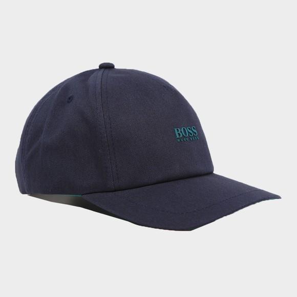 BOSS Mens Blue Casual Fresco Cap