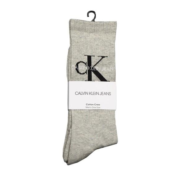 Calvin Klein Jeans Mens Grey Logo Sock main image