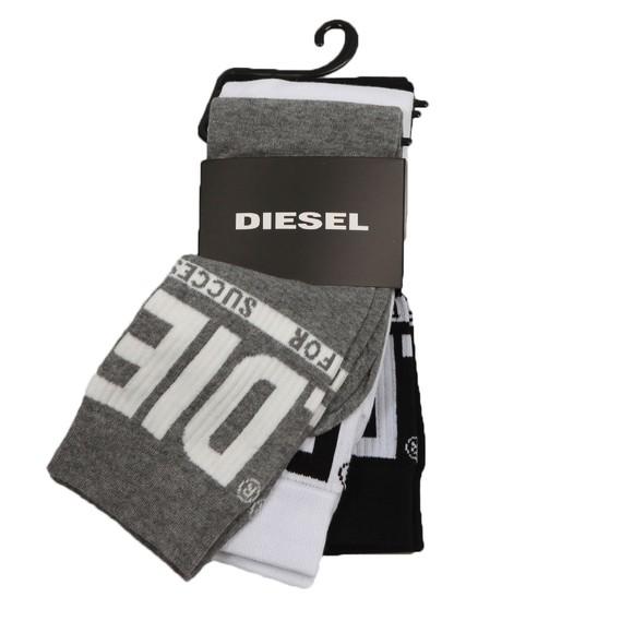 Diesel Mens Multicoloured Ray 3 Pack Sock
