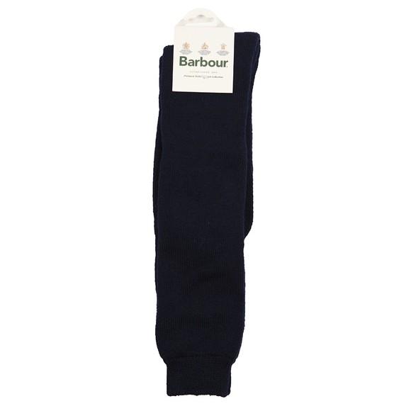 Barbour Lifestyle Mens Blue Wellington Knee Sock