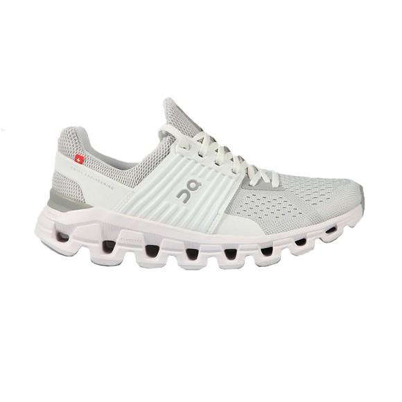 On Running Womens White Cloudswift Glacier Trainer