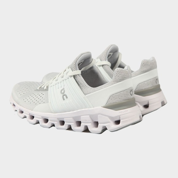 On Running Womens White Cloudswift Glacier Trainer main image