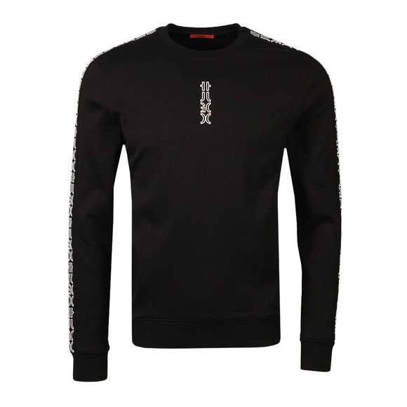 HUGO Mens Black Doby213 Sweatshirt
