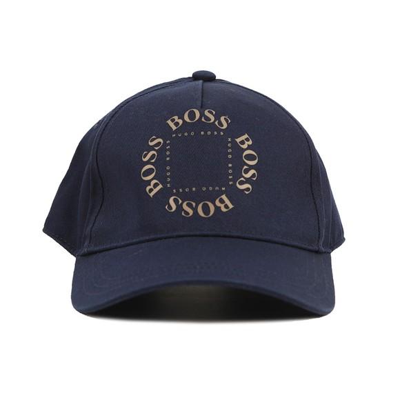 BOSS Boys Blue J21238 Circle Logo Cap