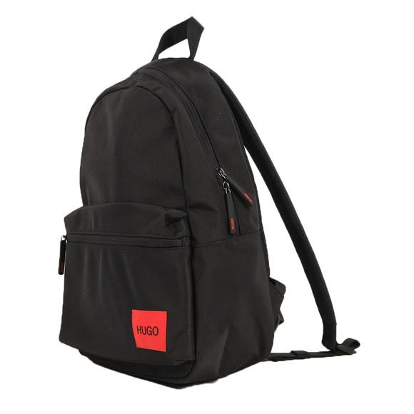 HUGO Mens Black Ethon Backpack