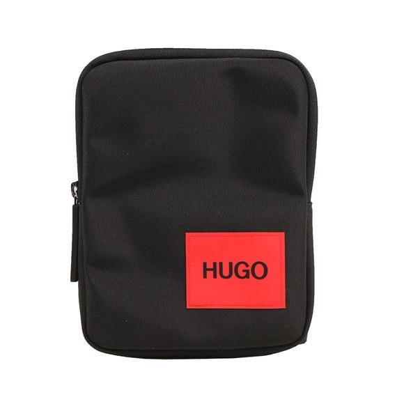 HUGO Mens Black Ethon Cross-Body Bag