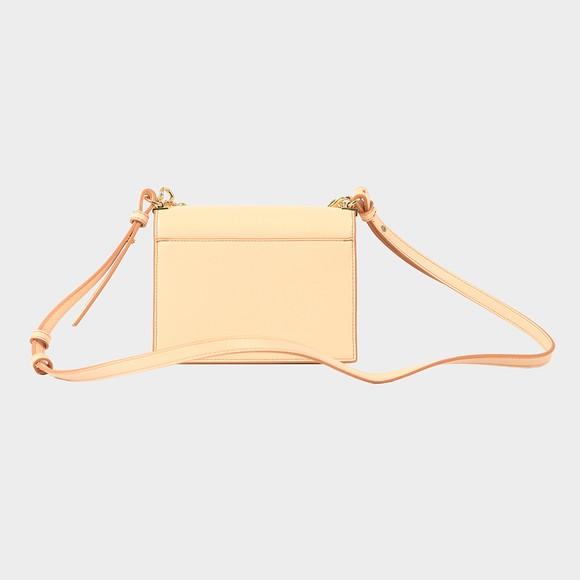 Love Moschino Womens Off-White Heart Logo Shoulder Bag main image