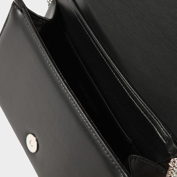 Love Moschino Womens Black Diamante Stud Bag main image
