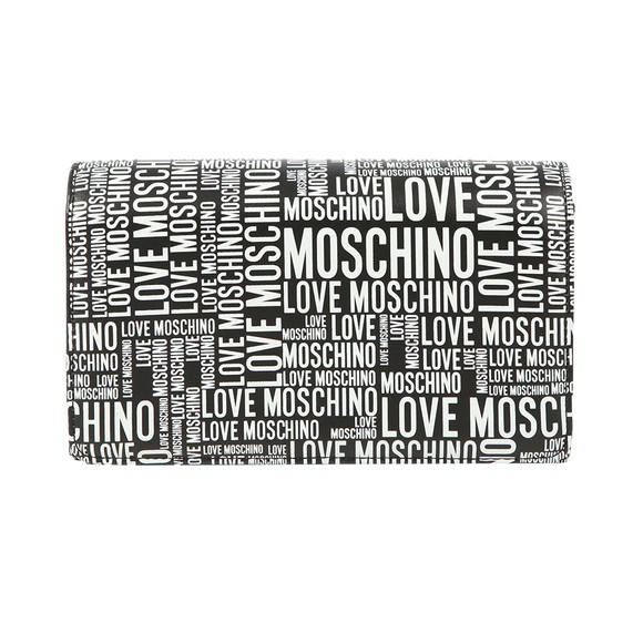 Love Moschino Womens Black Allover Printed Bag main image