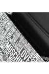 Love Moschino Womens Black Allover Printed Bag